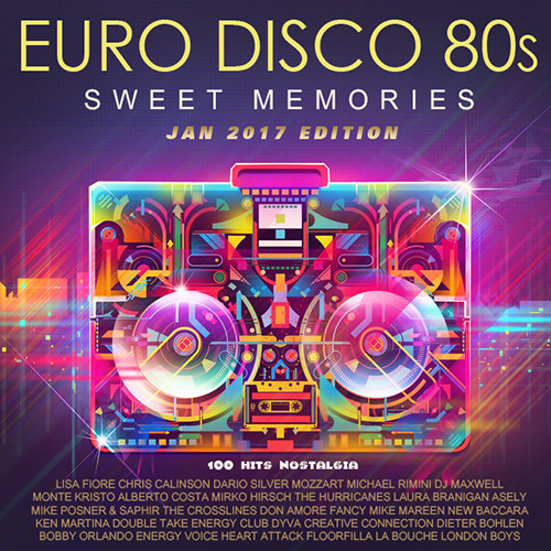 80's Hits - Totally Bitchin' Album of the 1980s+Euro Disco 80s